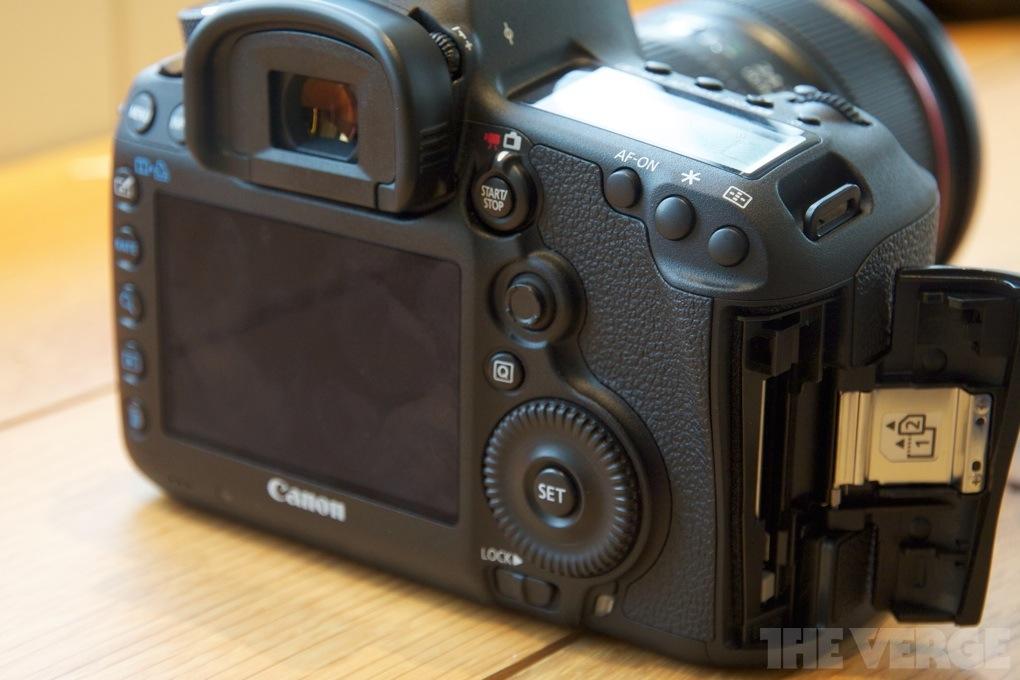 Gallery Photo: Canon EOS 5D Mark III hands-on photos