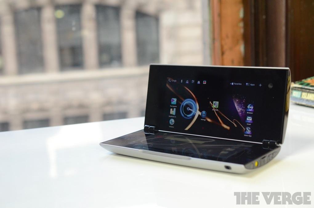 Sony Tablet P hero