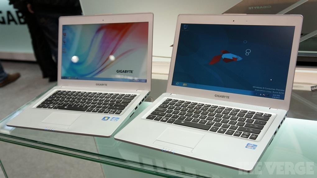 Gallery Photo: Gigabyte U2442V and U2442N hands-on photos