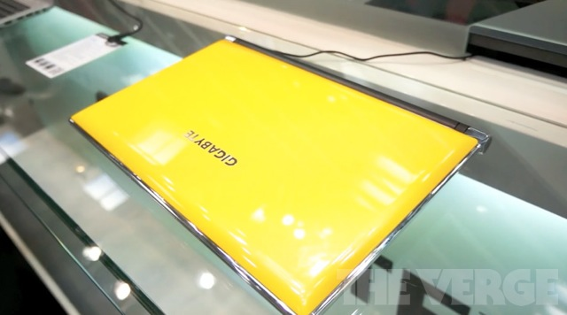 gigabyte laptop
