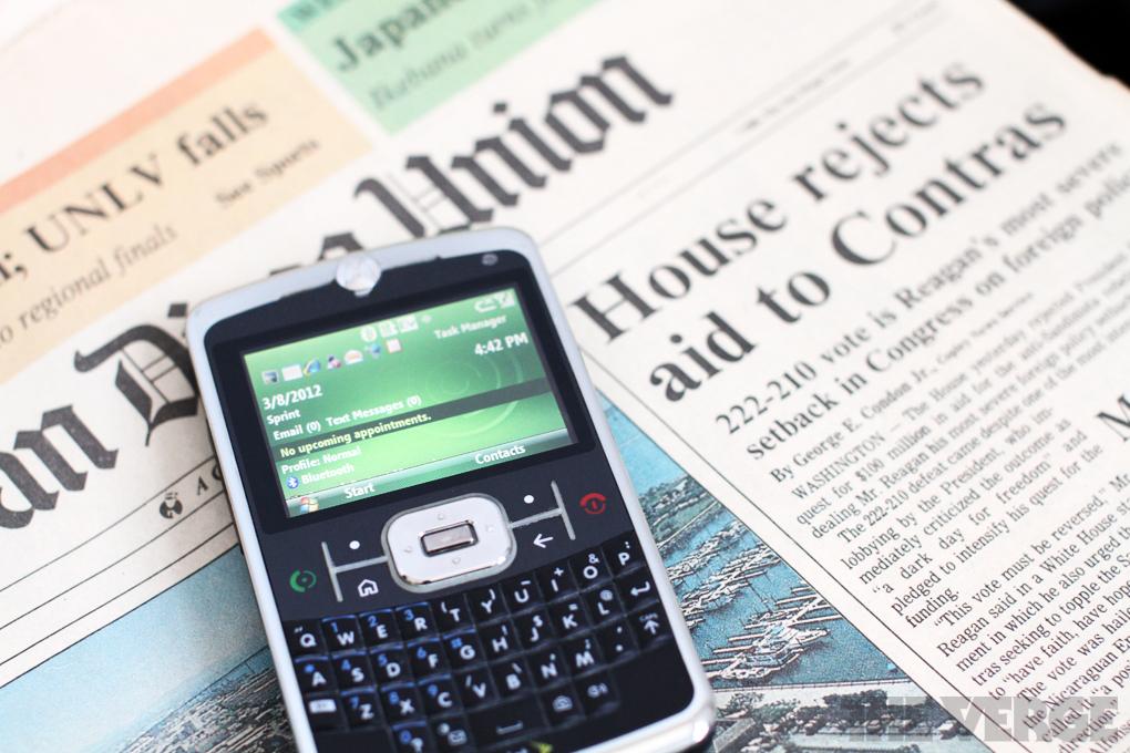 Motorola q9c windows mobile 6
