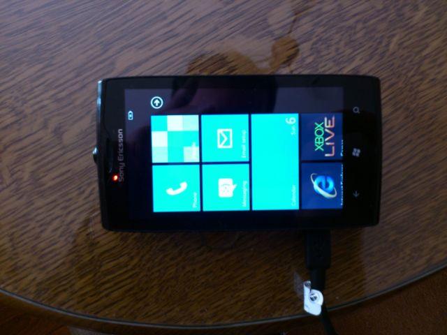 Sony Ericsson codename Julie Windows Phone 7