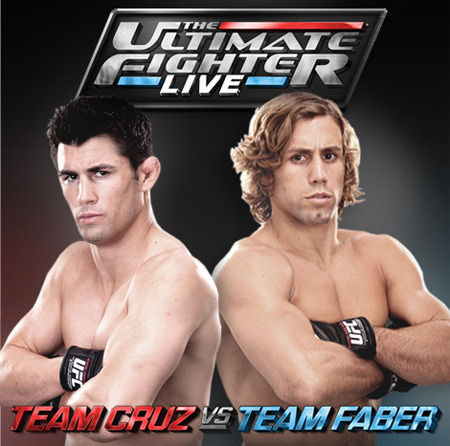 The drama just keeps escalating in the 15th season of The Ultimate Fighter (TUF) as Dominick Cruz (L) and Urijah Faber (R) hope that one of their fighters will emerge as the champion and winner of the six-figure UFC contract.