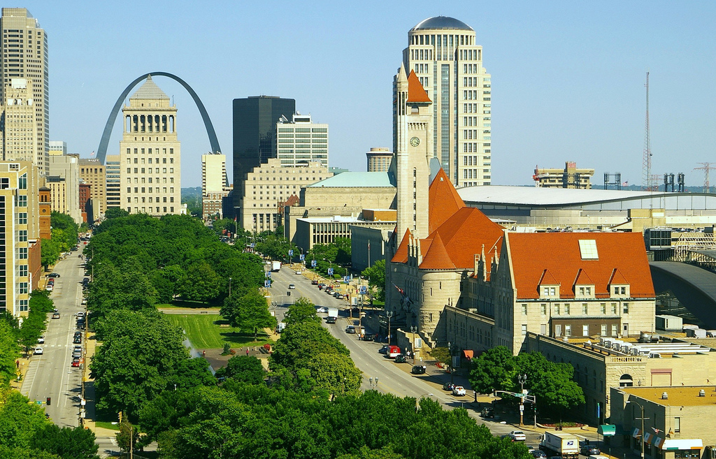 """St. Louis Union Station, set to be rehabilitated once again by a group including St. Louis Rams owner Stan Kroenke. <a href=""""http://www.flickr.com/people/84263554@N00/"""">Photo by Ron Reiring</a>."""