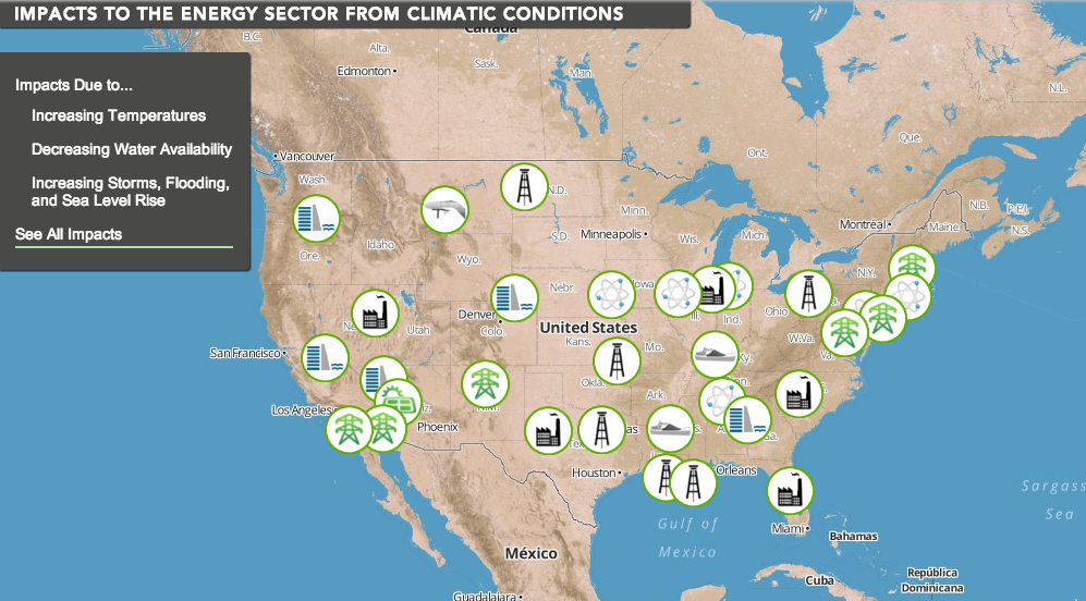 US government report says global warming threatens our power grid