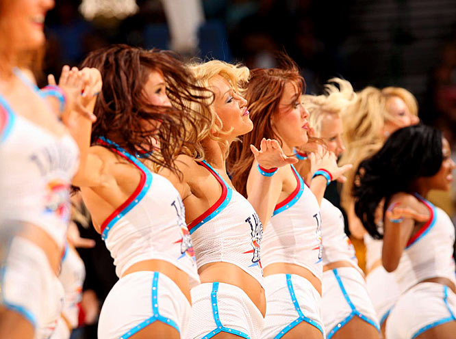 """The Thunder Girls are here to cheer on the newest Thunder players! Image via <a href=""""http://i.cdn.turner.com/si/multimedia/photo_gallery/0812/nba.dancers.thunder.girls/images/thunder-girls(14).jpg"""">i.cdn.turner.com</a>"""