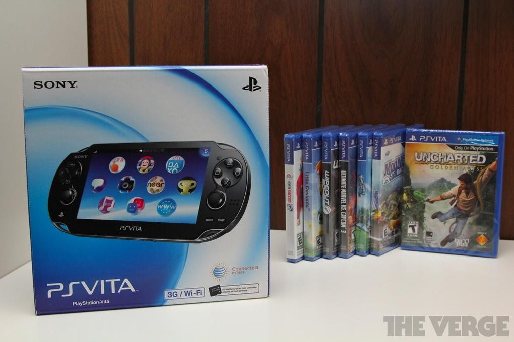 PlayStation Vita (3G + Wi-Fi) | Sony - The Verge