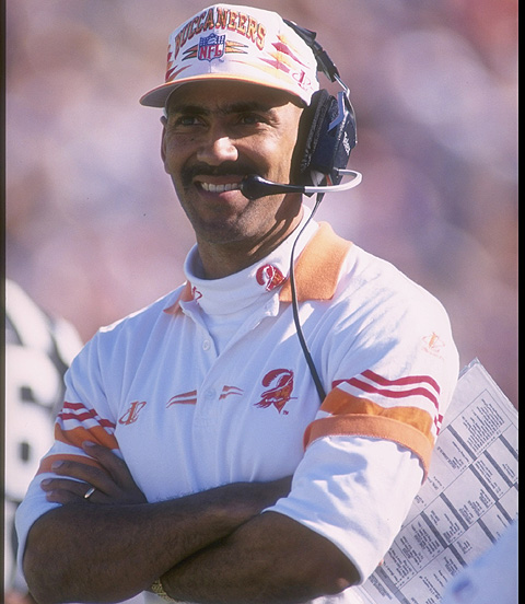 Dungy was not a big name, nor did he bring any. What he did bring however, were 'corners'.