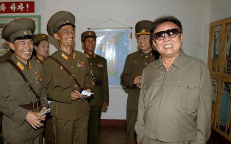 """Oh man. Kim Jong-Il is going to be <em>so pissed </em>when he reads this. via <a href=""""http://i.telegraph.co.uk/telegraph/multimedia/archive/00802/Kim-Jong-Il-460_802195c.jpg"""">i.telegraph.co.uk</a>"""