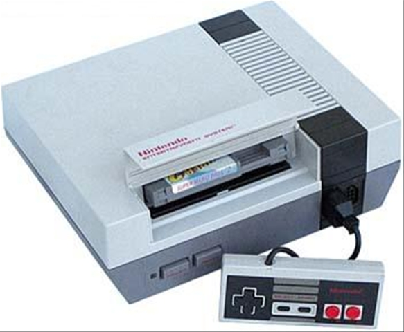 This NES appears fully intact because its owners didn't have half the terrible games that I have accumulated.