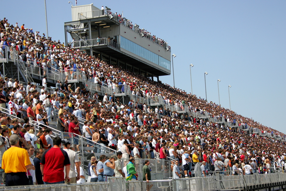 Raceday crowd at the Milwaukee Mile, which will see an IZOD IndyCar Series event on Father's Day weekend in 2011. (Photo: IZOD IndyCar Series)