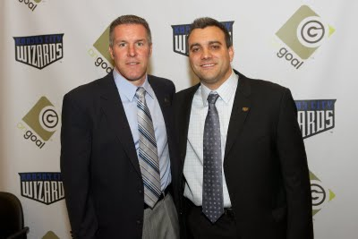 Head coach <strong>Peter Vermes</strong> and team president <strong>Robb Heineman</strong>. <strong>Heineman</strong> has been the vocal link between ownership group OnGoal, LLC and the rest of the world regarding rebranding.
