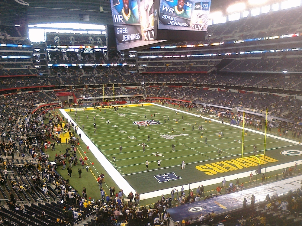 The final game of the 2010 NFL season.  Tears.
