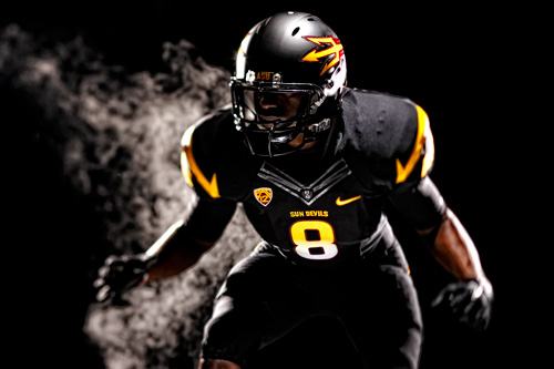 Here's the new black football jerseys. Pretty incredible, huh?