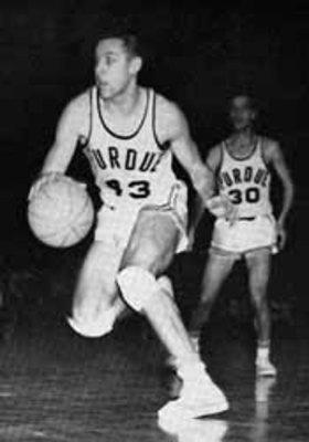 Purdue's first great scorer was Terry Dischinger.