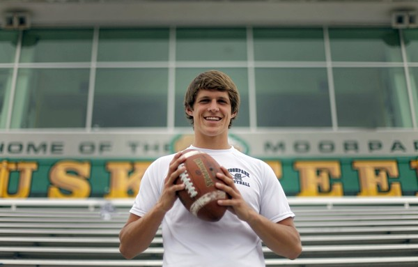 """Grant Rohach, a 2012 Iowa State commit from California, is one of Iowa State's highest ranked recruits. via <a href=""""http://www.latimes.com/media/photo/2011-06/62253977.jpg"""">www.latimes.com</a>"""