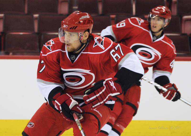"""Mattias Lindstrom (67) and Victor Rask (49) are 2 of the 6 heading out to play with other teams this season. Via <a href=""""http://farm7.static.flickr.com/6199/6160493349_d9997bcd4c_b.jpg"""">Jamie Kellner (all rights reserved)</a>"""