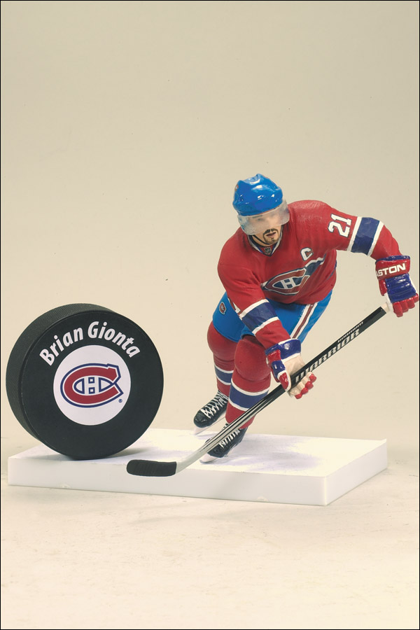 Brion Gionta is one of the three Habs players featured in MacFarlane's latest series of hockey figures. (Photo: Spawn.com)