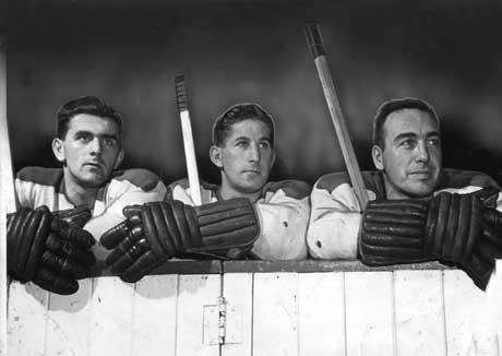 """The Montreal Canadiens' """"Punch Line"""" (the more famous one) made it's NHL debut on this day in 1943. (Photo: Montreal Gazette)"""