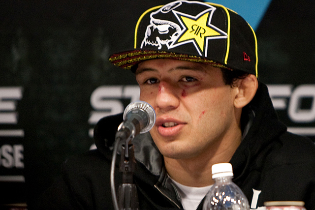 Gilbert Melendez fights Jorge Masvidal for the Strikeforce Lightweight Title Saturday night on Showtime at 10 PM. Photo Courtesy of mmasucka