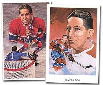 Elmer Lach was arguably one of the best centers of his era. (Images: HHOF)
