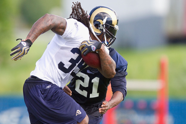 Steven Jackson is healthy and in fine form for training camp.