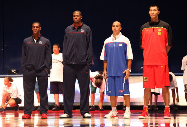 3 out of these 4 players will be in the Tournament. Can you name which? (Photo by Marc Lecureuil/Getty Images for Nike)