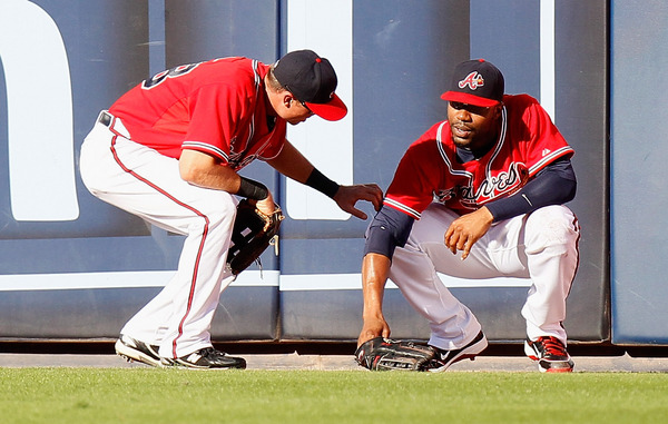 Jason Heyward was floored when Rick Ankiel leaked the news that the young star won the Purple Row NL RotY.