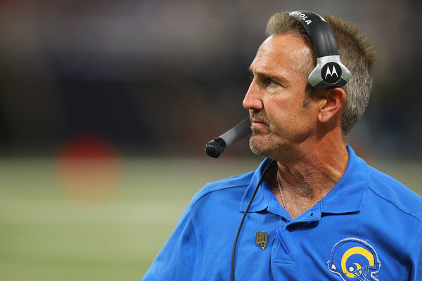 Head coach Steve Spagnuolo is having a promising second season with the St. Louis Rams.