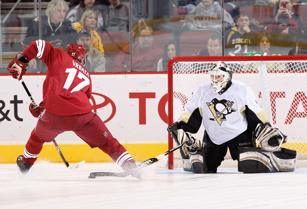 This would be a pretty sweet scene with a goalie cam