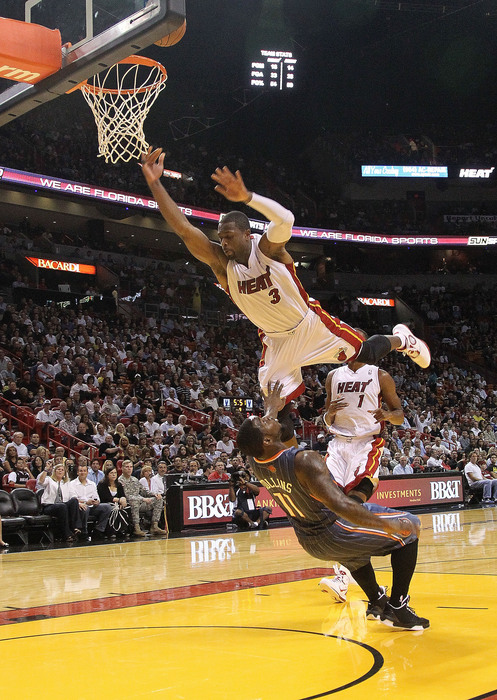 On the bright side, Sherron Collins won't have to worry about Dwyane Wade trying to dunk over him in Lithuania.