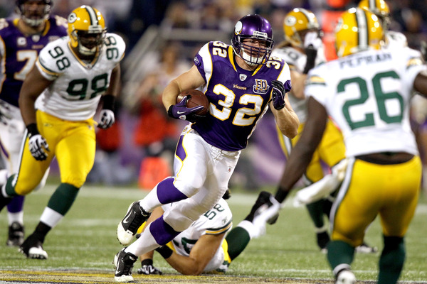I can't really blame Gerhart for fumbling on Sunday--he was probably nervous for our interview.