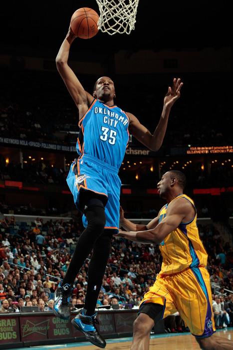 Kevin Durant won his third Big 12 NBA Player of the Week award.