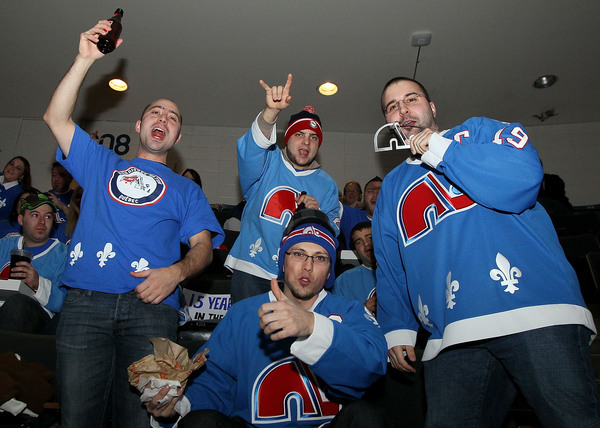 We're on the Isle again tonight. No word if DJ Jazzy Poutine and his Quebec Nordiques bling will make another guest appearance.
