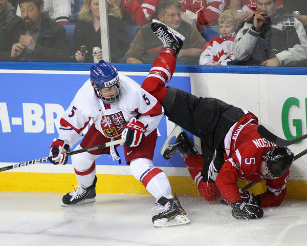 Frk attained notoriety for 2011 WJC run-ins with Erick Gudbranson.