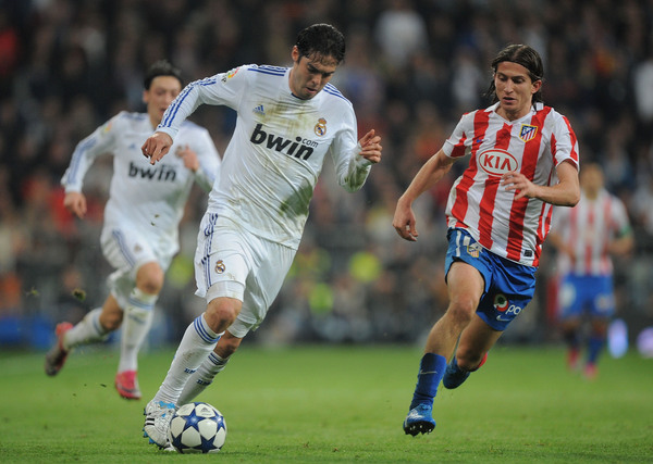 A game of bwin vs. Kia? Nope, just a game between Real Madrid and Atletico Madrid.