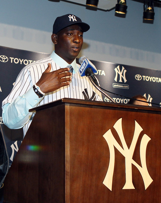 The biggest off-season move the Yankees made this offseason was Rafael Soriano. Yet they ran away with the division few thought they would really compete in this year.  (Photo by Jim McIsaac/Getty Images)