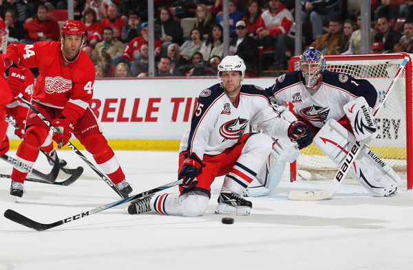 For four years, Jan Hejda has sacrificed his body for the Blue Jackets. But is it the right fit to bring him back to Columbus? (Photo by Claus Andersen/Getty Images)