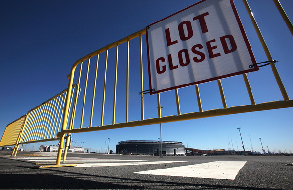 The NFL is finally set to re-open for business, meaning no more keeping players away from New Meadowlands Stadium . (Photo by Mario Tama/Getty Images)