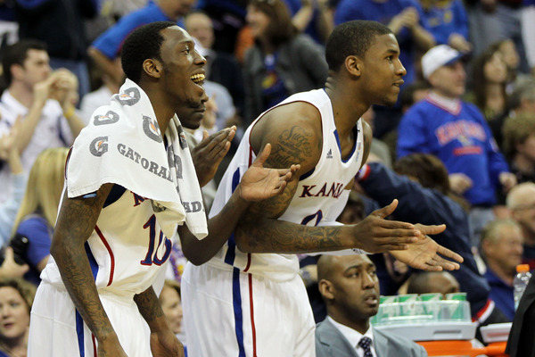 Tyshawn Taylor and Thomas Robinson will both be be back in Lawrence next season.