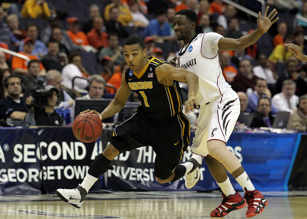 Will Flip Pressey and Co. be playing in the SEC next year?  (Photo by Nick Laham/Getty Images)