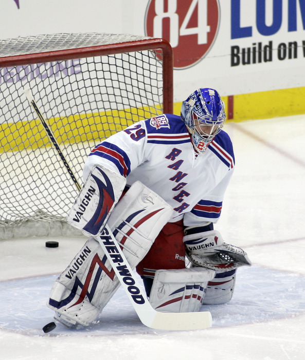 We have no pictures of Scott Stajcer at the moment, so enjoy one of former Ranger, Chad Johnson.
