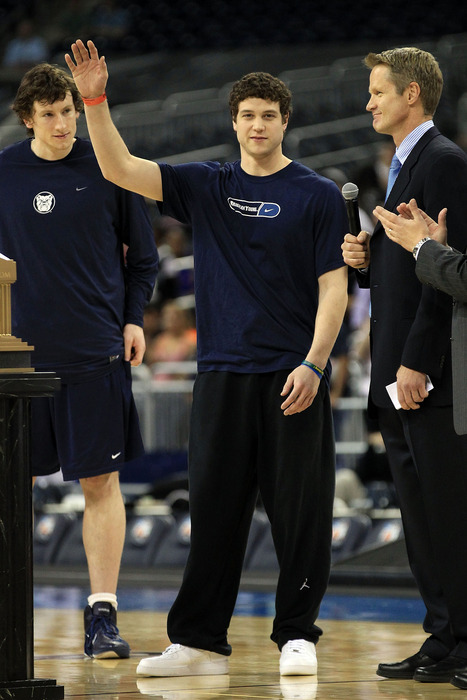 The Jimmer is probably not the next Steve Kerr and, judging by this picture, Kerr knows that.