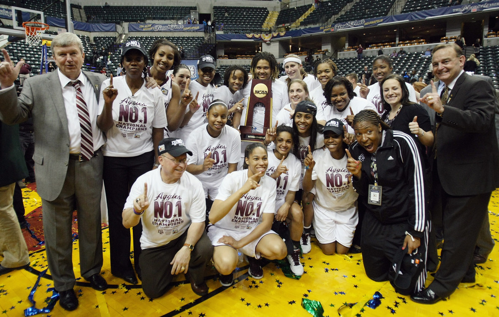 Who will win the 2011-12 NCAA women's basketball national championship? With so much parity around the nation, it's hard to tell. And that's exciting. <em>Photo by Elsa/Getty Images.</em>
