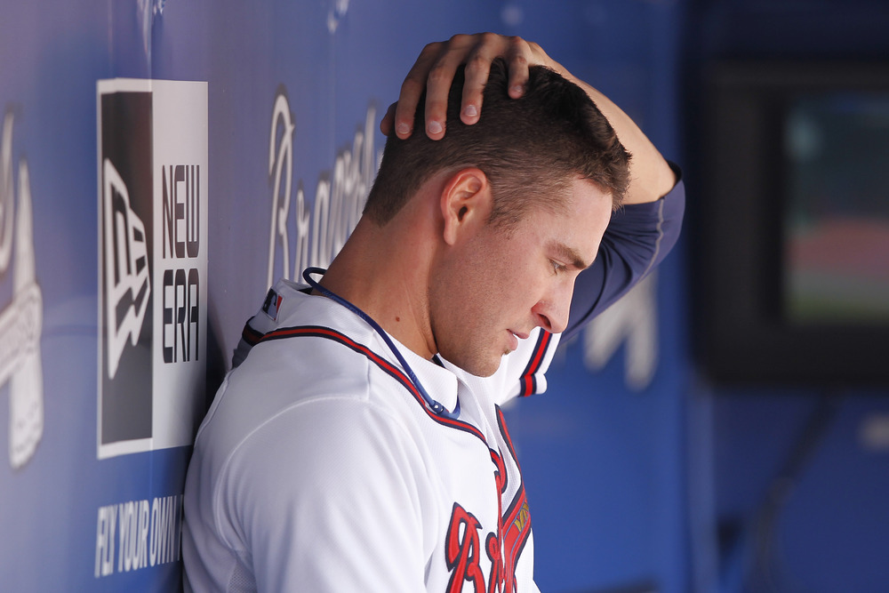 Brandon Beachy reacts to giving up a HR in 2011.  He's only had to make this face once in 2012.