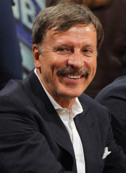 Stan Kroenke has to be smiling about the future of his young football team. The Rams appear to be heading in the right direction, and his smart financial decisions are a big reason why. (Photo by Doug Pensinger/Getty Images)