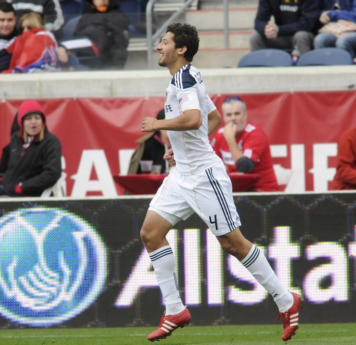 Omar Gonzalez ... in happier times.