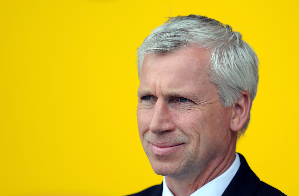 In Pardew we trust.  I think.