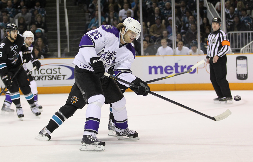 <em>Michal Handzus joins the Sharks this season as their primary penalty killer.</em>