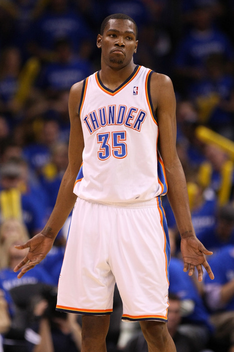 Kevin Durant wonders why there's such a curse on the second overall pick.